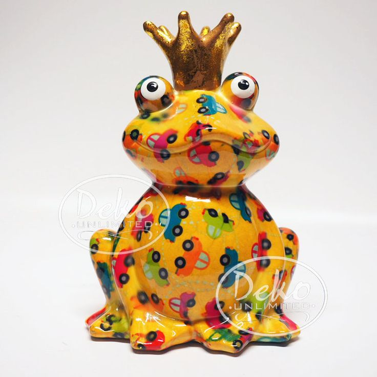 Pomme Pidou Frosch Charly gelb Autos