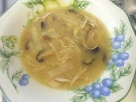 La Alquimista Cocinera : Sopa de aleta de tiburón, sin tiburón y con agar-agar (cocina china)
