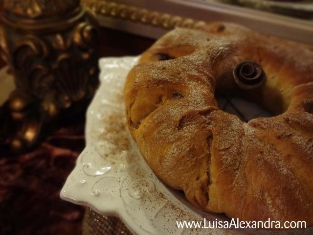 Luisa Alexandra: Coroa de Chocolate • Receita em Vídeo