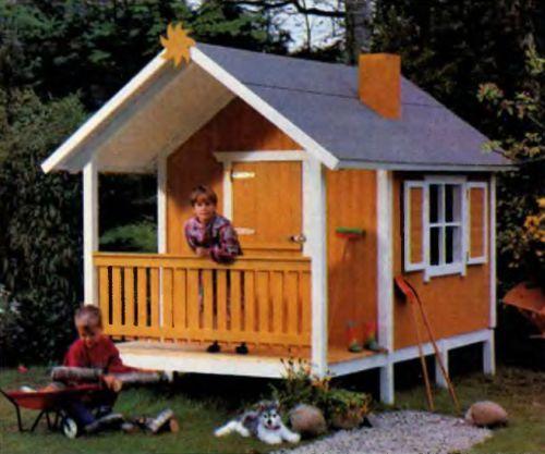Строим игровой домик для детей