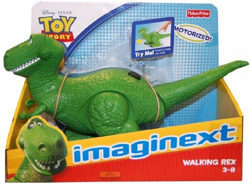 Imaginext Toy Story 3 Toy Story 3 Walking Rex figure die cast doll ( parallel import ) @ niftywarehouse.com #NiftyWarehouse #Toy #Story #Movie #ToyStory #Pixar