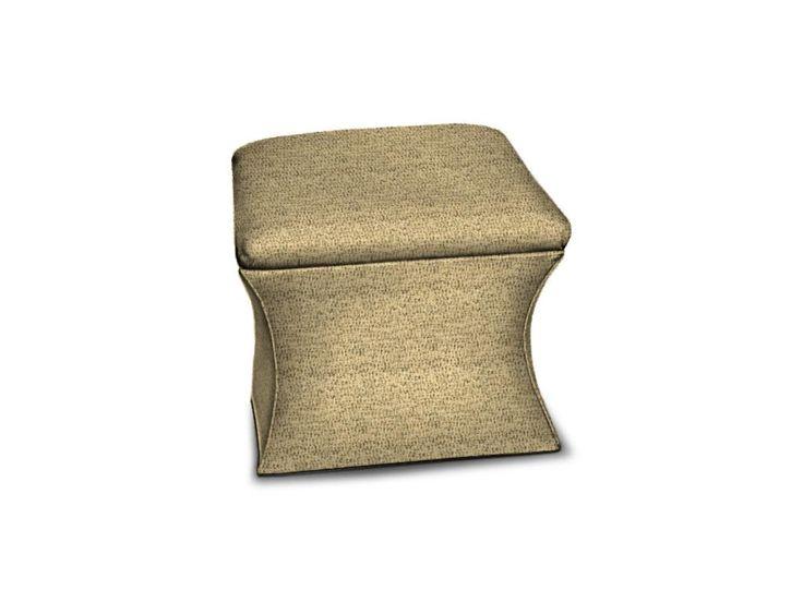 Sherrill (Spokane Only) Living Room Upholstered Base Ottoman 6008   Ennis  Fine Furniture