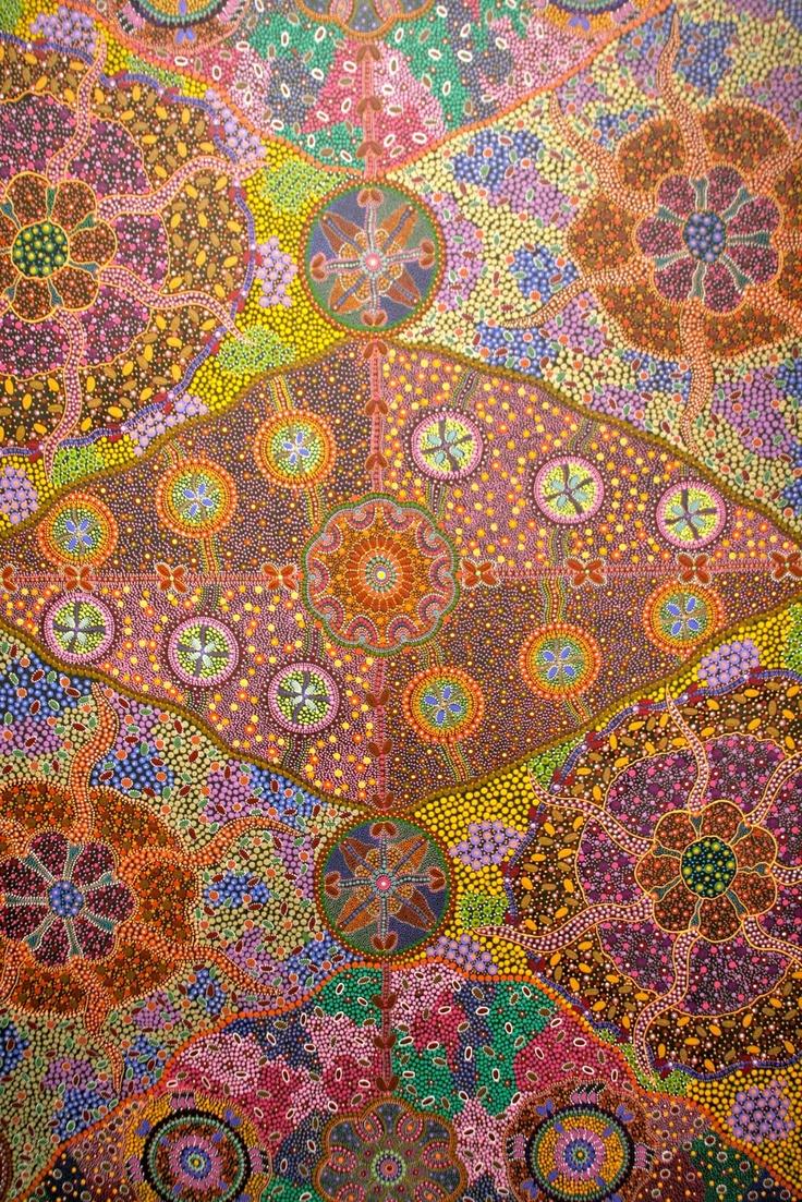 project E(arT)H: australian aboriginal art: women, painting and dreams