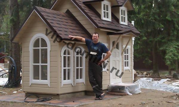 Установленные домики в городе Смоленск | Игровые домики для детей