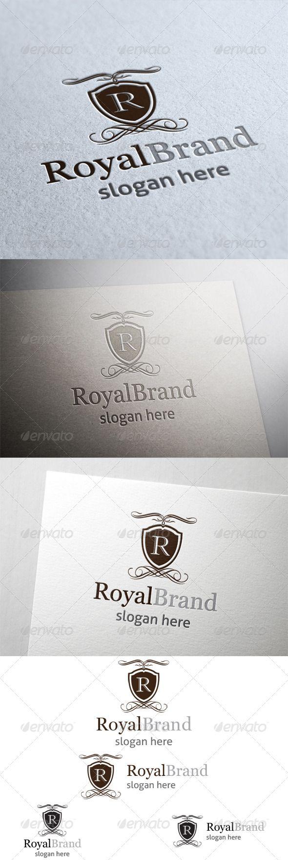 Royal Brand Logo GraphicRiver Royal Brand Logo. All in