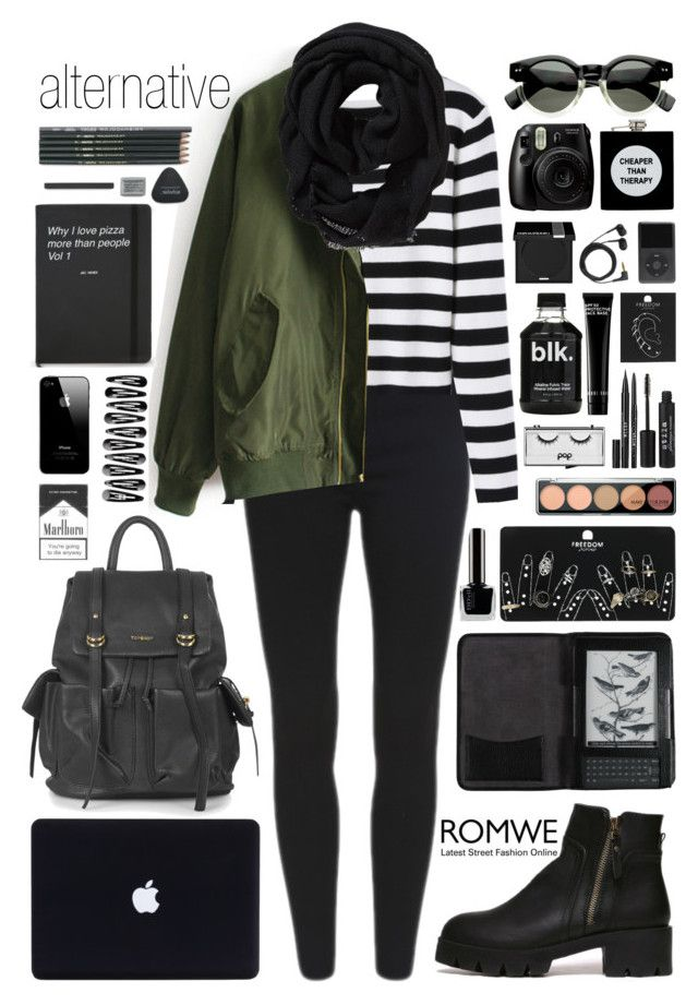 """Romwe 2"" by scarlett-morwenna ❤ liked on Polyvore featuring Topshop, Cole Haan, Stila, Pop Beauty, Bobbi Brown Cosmetics, MAKE UP FOR EVER, Sennheiser, ASOS, Old Navy and romwe"