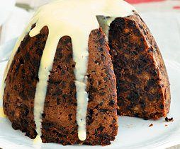 plum pudding - I'm so intrigued by British puddings...