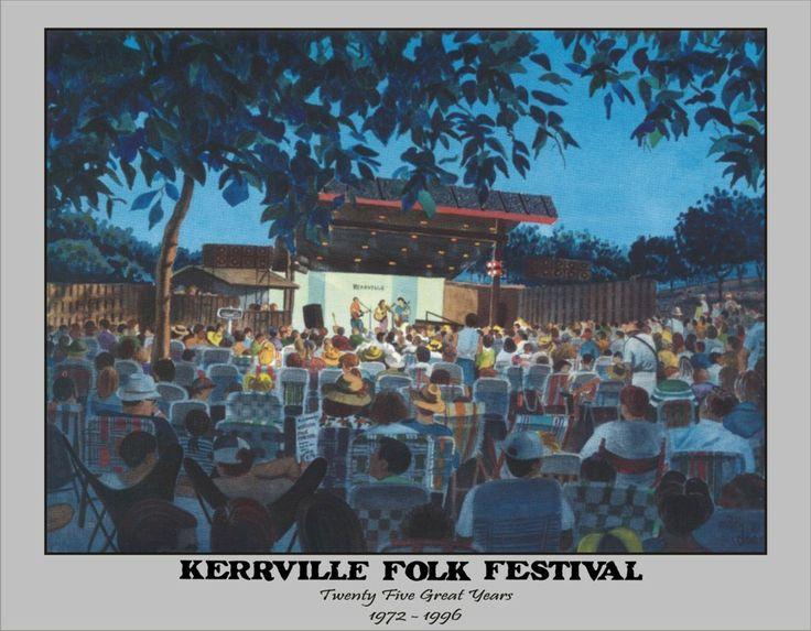 The Kerrville Folk Festival...great music, good fun, lots of memories!!!