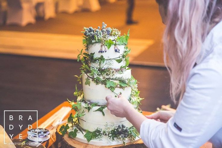 Gorgeous cake with rustic flowers   The Breeze Wedding in a Week   Dress from Astra Bridal   www.borrowedandblue.kiwi