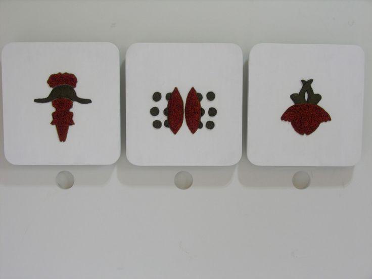 Tidal Bottega Inkblot sculptures