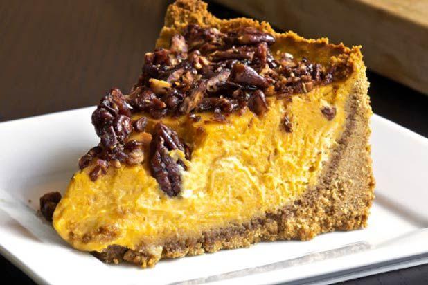Pumpkin Maple Bacon Cheesecake