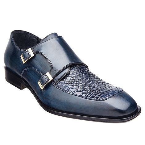 A perfect definition of comfort and elegance, these double Monkstraps in  black from Belvedere is made for the modern man.