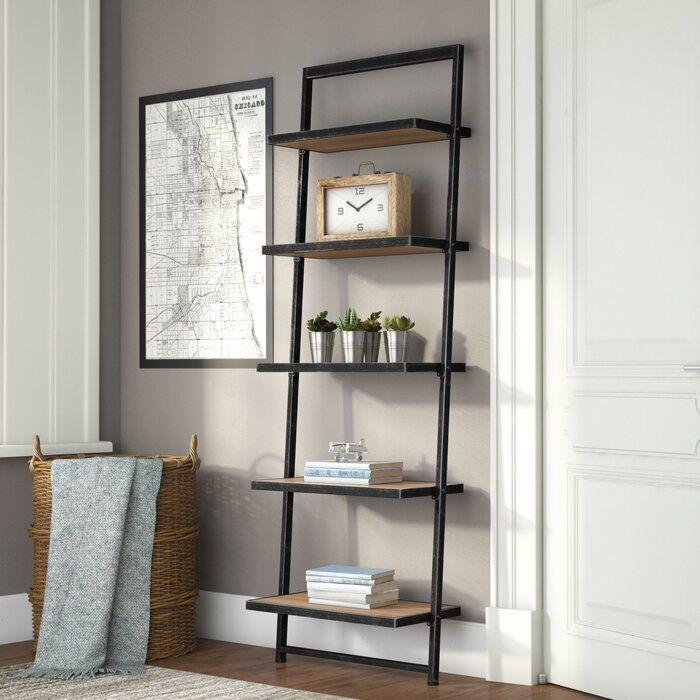 Trent Austin Design Harva Ladder Bookcase Reviews Wayfair Bookcase Ladder Bookcase Modern Home Furniture
