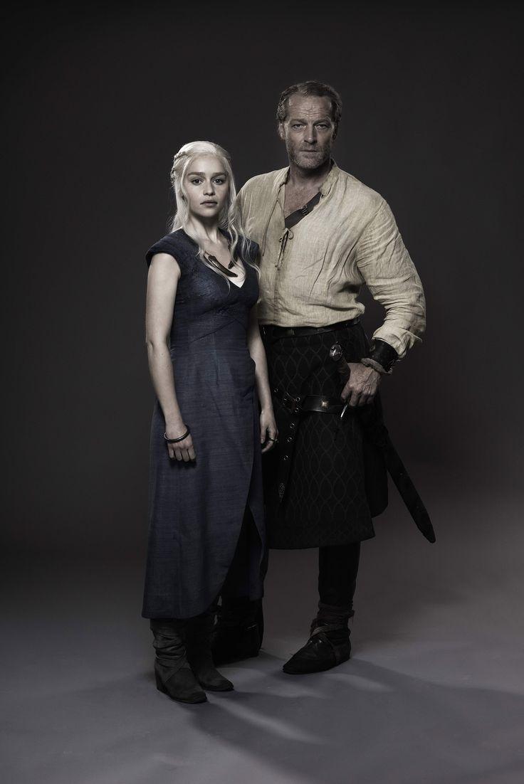 Daenerys Targaryen et Jorah Mormont - Promo photo - Jeu-de-trônes photo