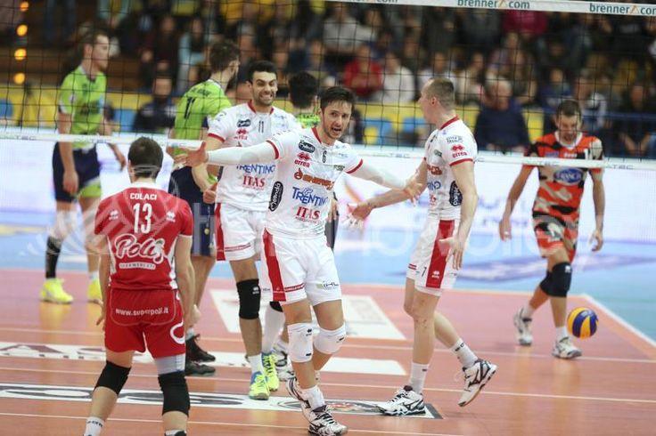 Zygadlo esulta #trentinovolley #volley