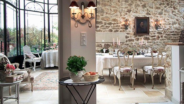 Les 25 meilleures id es de la cat gorie salle manger shabby chic sur pinterest salle - Restaurant la salle a manger a salon de provence ...
