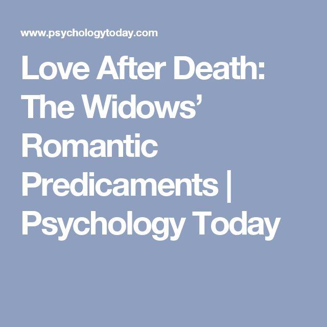 blog name love after death widows romantic predicaments