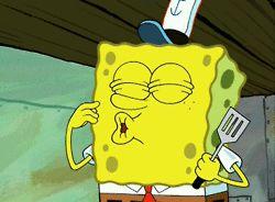 Spongebob-kiss