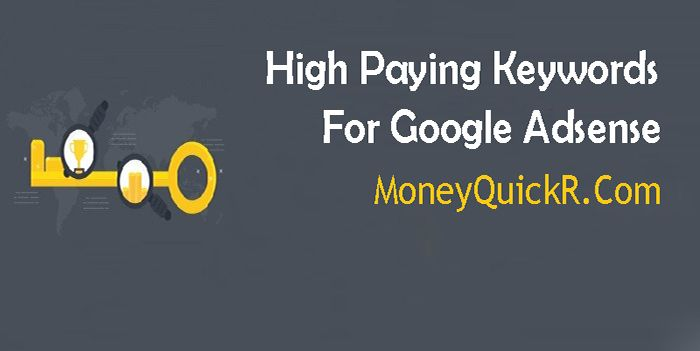 High Paying Keywords  Google Adsense is the best monetizing community to generate cash out of your website. You need to use the listing from high paying keywords you probably have a website and have good site visitors then you may earn a very good revenue through the use of high Paying Google Adsense Key phrases into your weblog posts. If you're an Adsense Writer,    More information about this similar article available at http://www.moneyquickr.com
