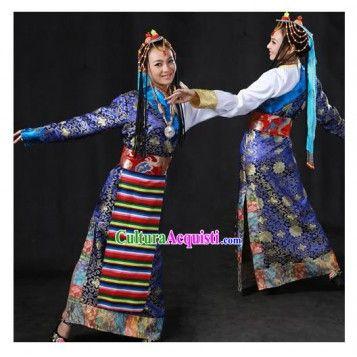 antichi abiti tradizionali tibetani - Cerca con Google