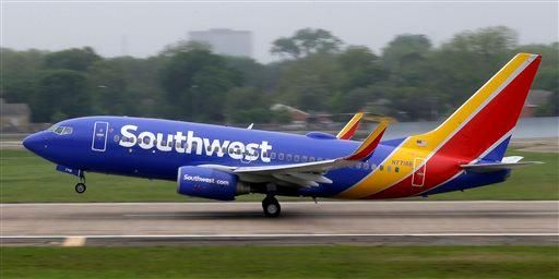 Southwest Airlines Co.'s website is slowing to a crawl, and the airline blames heavy response to a sale on fall travel.