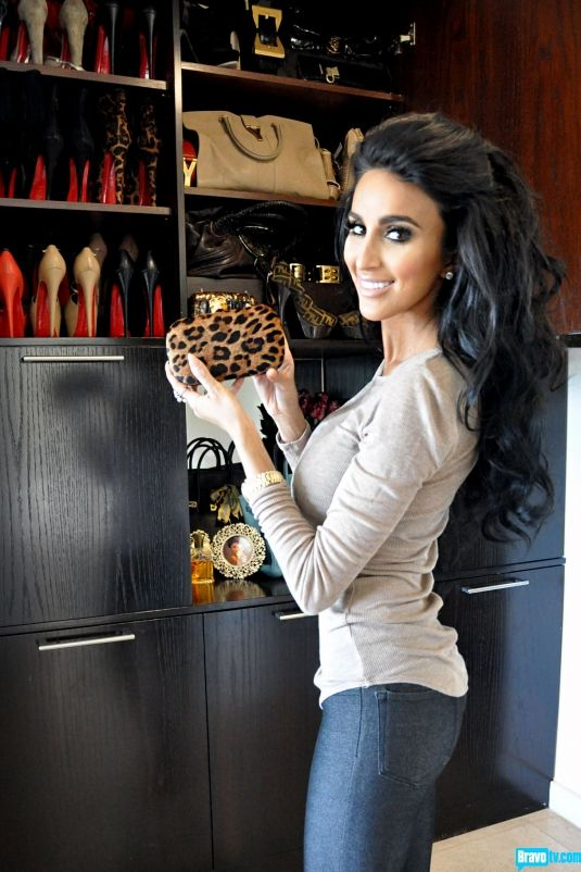"""Tour Lilly Ghalichi's Closet  Check out what a closet fit for a """"Persian Princess"""" looks like. Trust us, it's fabulous."""