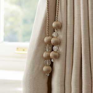 Sienna Natural Curtain Tieback