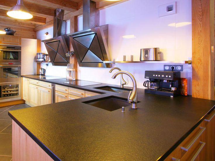 13 best Ardoise images on Pinterest Slate, Countertop and Home ideas - pose d un plan de travail cuisine