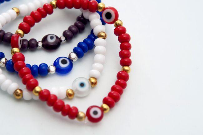 pulseras de pulseras ojos - Buscar con Google