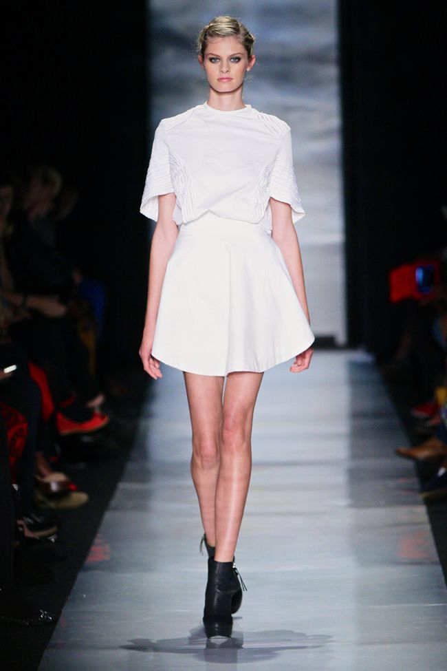 Hot white by Samantha Constable s/s 2013 collection