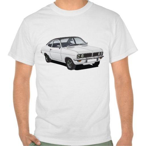 Vauxhall Firenza white, black roof  #vauxhall #vauxhallfirenza #firenza #uk #england #70s #automobile #vintage #car #bil #auto #thirt #tshirts #classic
