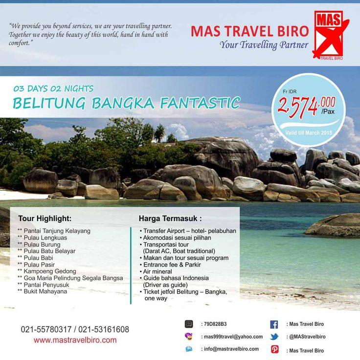 Travelers menyukai wisata dalam negeri? Kalau iya, jangan lupa mengunjungi bangka belitung. Tidak kalah dengan wisata internasional lho travelers. #travelingindonesia