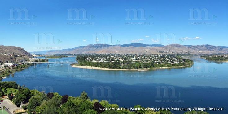 McArthur Island, Kamloops, BC. Mastermind Studios Aerial Video & Photography. www.mastermindstudios.ca