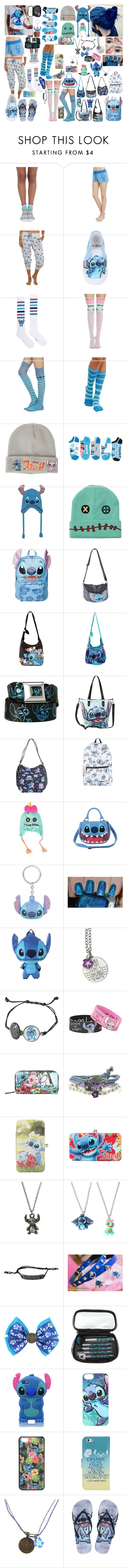 """""""Lilo and Stitch"""" by cupcake125 ❤ liked on Polyvore featuring Disney and Korres"""