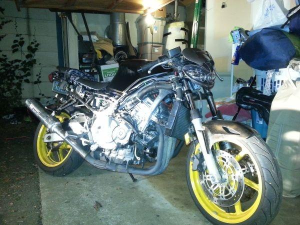 honda cbr 600 f3 - $1500 | cheap sacramento craigslist motorcycles