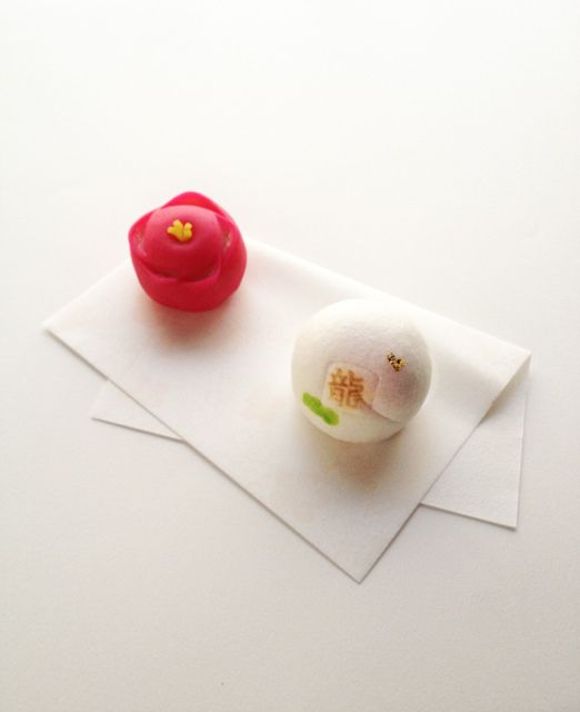 Wagashi for New Year