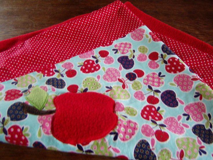 Babydecken - Kuscheldecke-Süße Früchtchen - ein Designerstück von FarbenFroh56 bei DaWanda