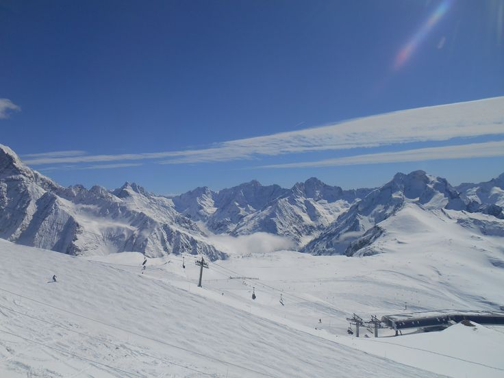 Les pistes de ski
