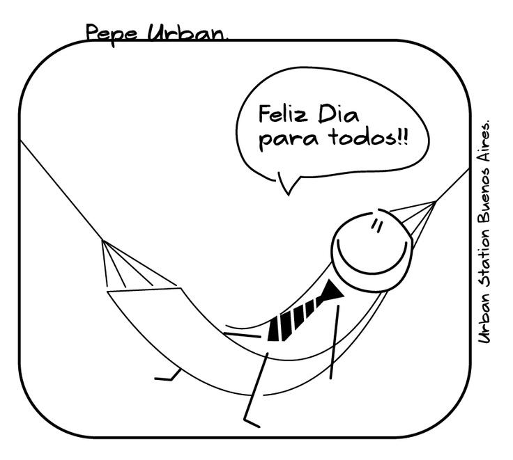 pepe, urban, feliz, dia, iyi günler, work, hammock, enjoy, tie