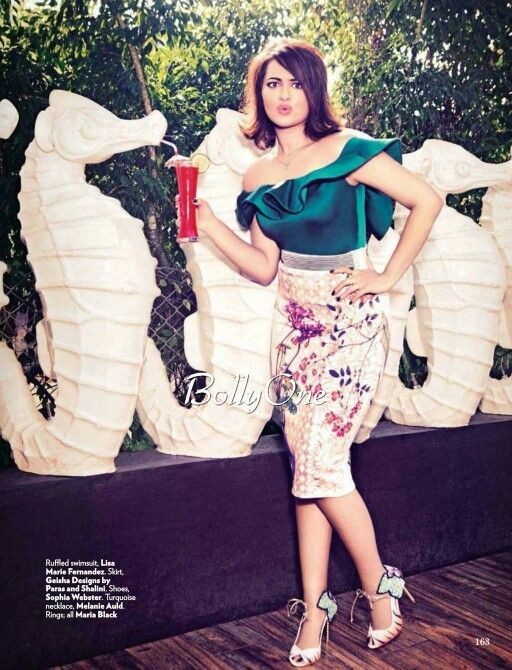 Sonakshi Sinha new vogue pictures