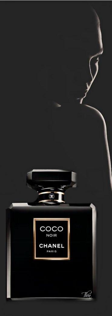 Karlie Kloss as the face of Chanel Coco Noir Fragrance