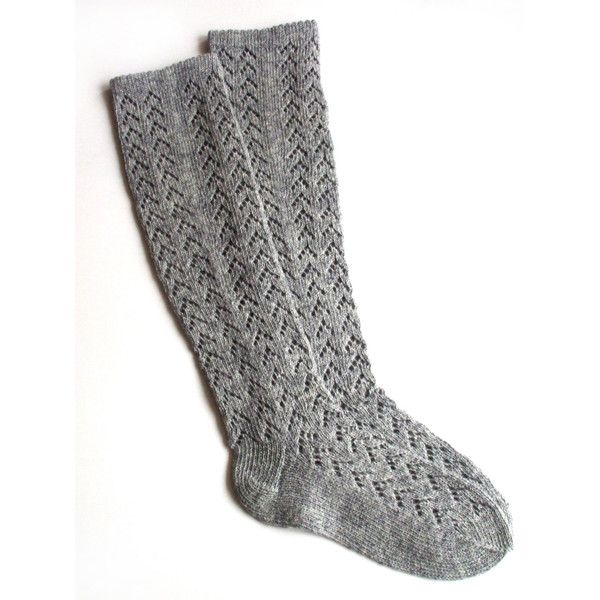 Women's Knitted Lambswool Knee-High Lace socks/stockings/gray/natural... (£18) ❤ liked on Polyvore featuring intimates, hosiery, socks, accessories, shoes, boots, black, boot socks & cuffs, women's clothing and grey knee high socks