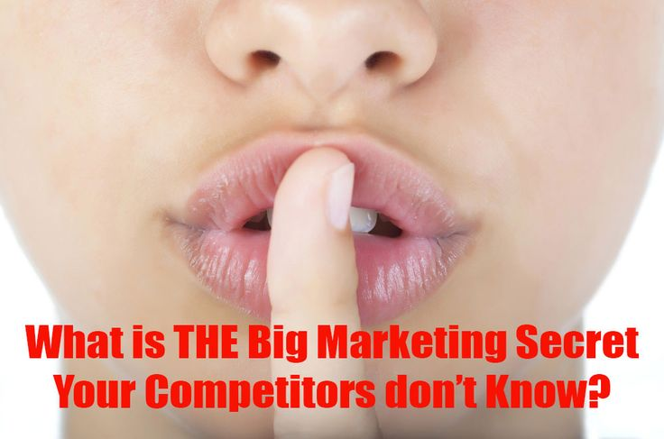 What is THE Big Marketing Secret your competitors don't know? You can learn to use this to safeguard your customers and keep them away from the competition: http://streetsmartmarketing.com.au/big-marketing-secret/