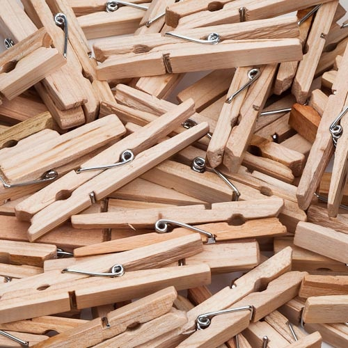 Wooden Pegs 50 Pack Poundland Pegs Wooden Pegs