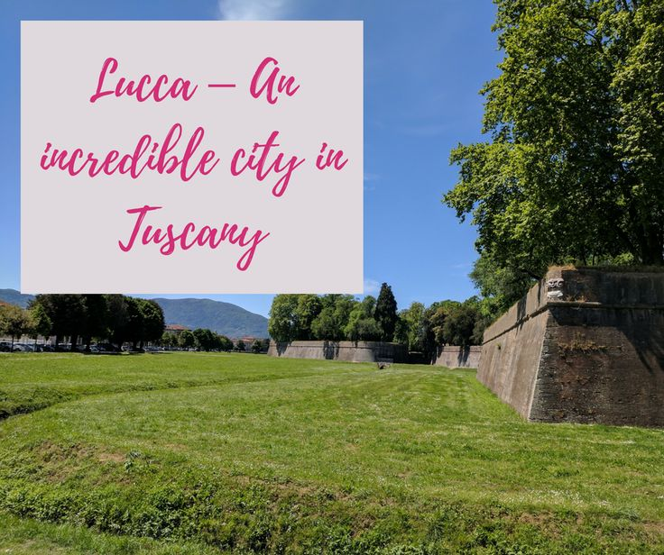 Lucca is a stunning city that lies in the Middle-Northern part of Italy. In the medieval times it was the capital of Tuscany.