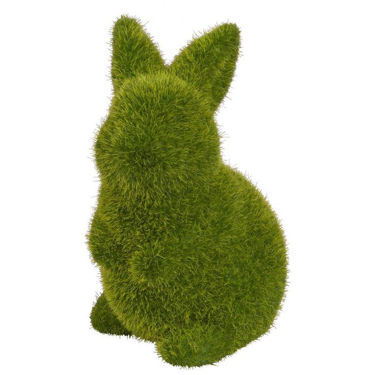 Green Rabbit Ornament H 13 cm | Maisons du Monde