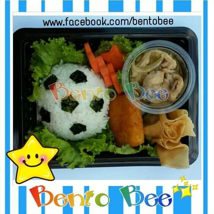 Soccer Ball Bento