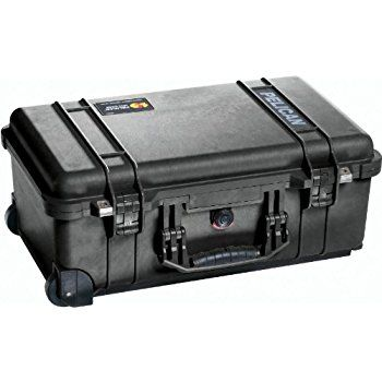 Great size and seams like it will last forever. I have used other Pelican cases and this is not different with excellent fit and finish. It comes with to layers of pick foam plus a layer on the top and bottom so ever angle is protected.  Buy on  https://apps.facebook.com/americanshopping