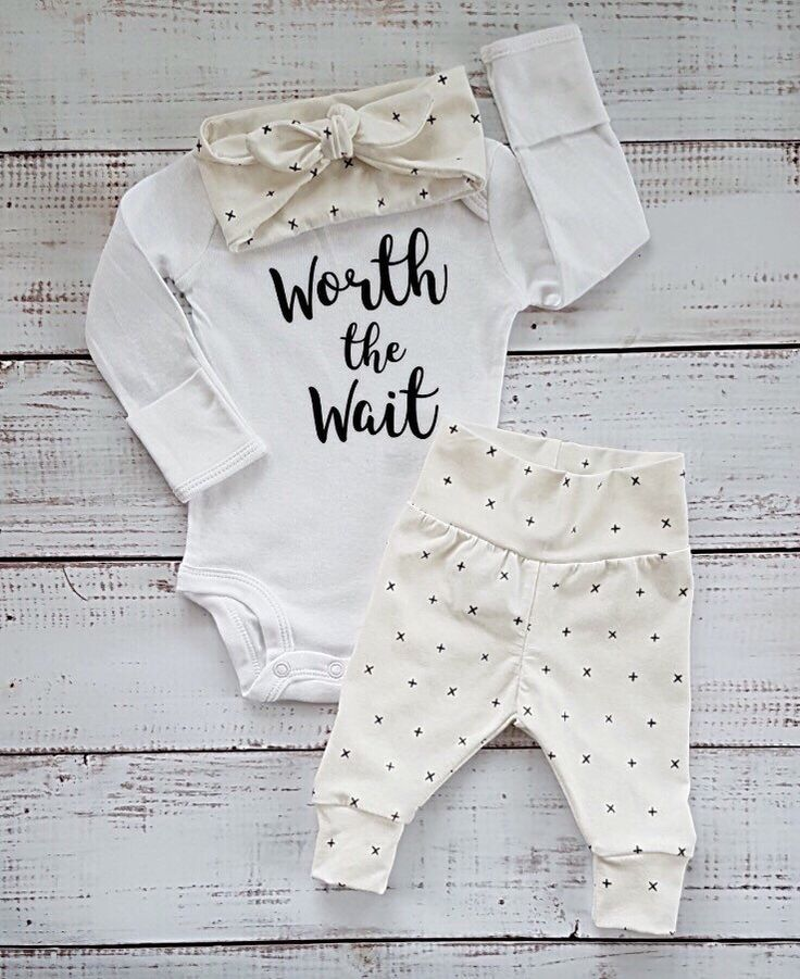 A personal favorite from my Etsy shop https://www.etsy.com/ca/listing/515190179/newborn-baby-coming-home-outfit-baby