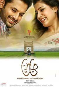 A Aa -  Anand and Anasuya meet each other on a train ride. The two eventually fall in love and have to fight for their relationship.  Genre: Comedy Drama Romance Actors: Anupama Parameshwaran Nadia Moidu Nithiin Samantha Ruth Prabhu Year: 2016 Runtime: 152 min IMDB Rating: 7.0 Director: Trivikram Srinivas  Watch A Aa online for free - source: www.InsideHollywoodFilms.com